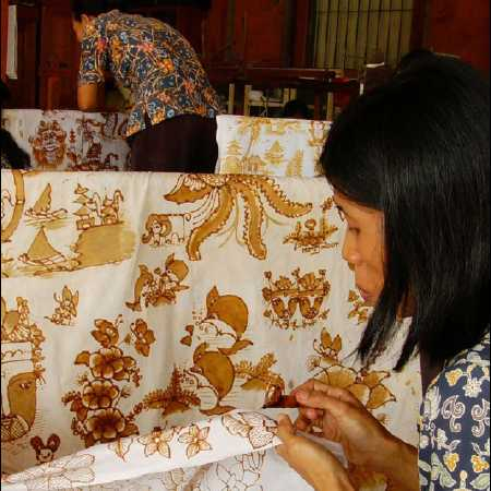 Batik Making - Hire Bali car driver for Private Tour